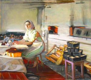 С.Смирнов, Утро в пекарне 700 х 617