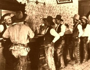 Texas Saloon-Cowboys at Tascosa