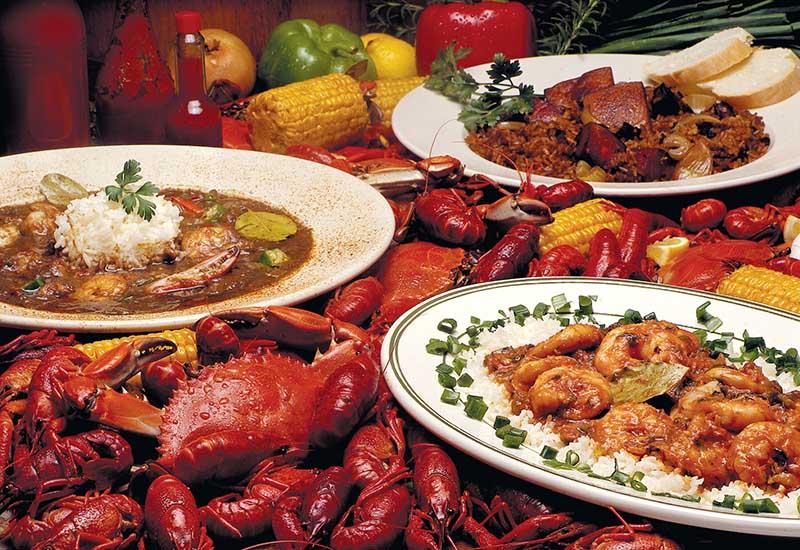 блюда креольской кухни  800 х 550