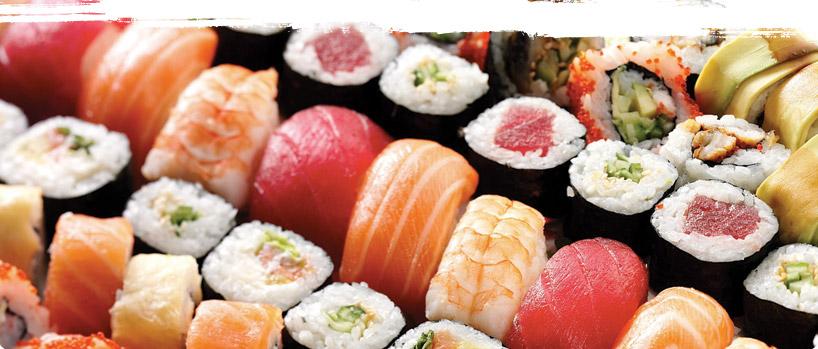 фото готовых суши