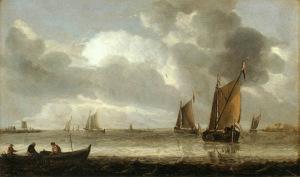 художник Абрахам ван Беерен 800 х 472
