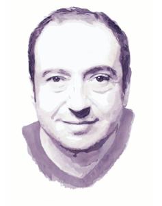 портрет вином киноактера patrick-timsit, франция