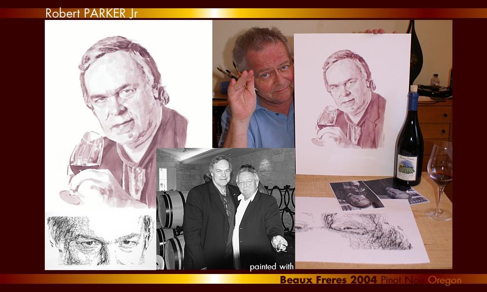 портрет роберта паркера-автор филипп дюфрено