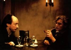 Полное затмение-кадры из фильма -актеры Леонардо ДиКаприо, Дэвид Тьюлис-абсент