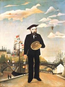 Анри Руссо. Автопортрет. 1890 год