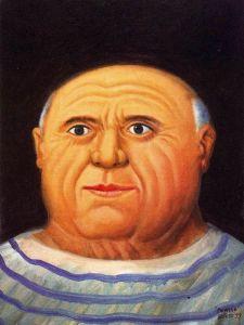 Фернандо Ботеро-Fernando Botero-1999,Picasso-Private