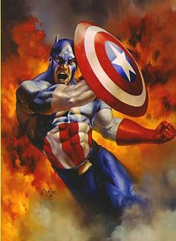 Капитан-Америка-Captain America-Comics #1 jpg
