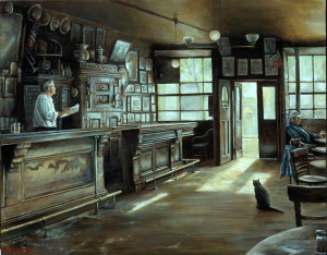 """МакСорли в солнечном свете"",  Harry McCormick -750 х 586"
