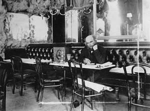 Поль Верлен в парижском кафе