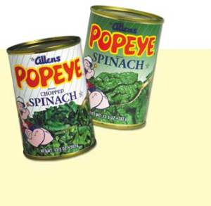 Spinach Allen Canning Company