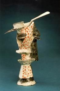 Стакан абсента - Пабло Пикассо-glass-of-absinthe-1914