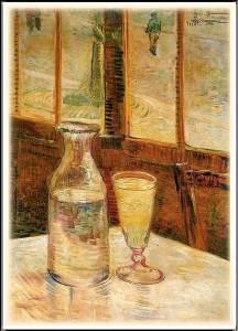 Винсент Ван Гог. Натюрморт с абсентом.