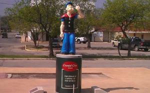 памятник Попаю-Техас-1937