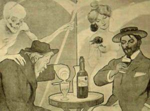 плакат с рекламой La Kolamarque