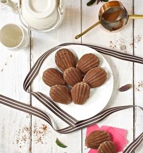 шоколадное печенье Мадлен  650 х 694