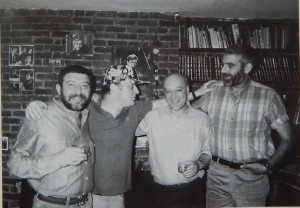 А. Каплан, И. Бродский, А Рабинович, С Довлатов 1986L