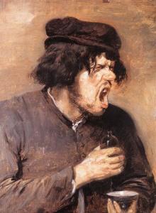 Адриан Браувер Горький напиток, 1635. 650 х 884