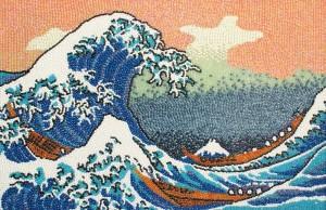 Большая волна в Канагаве 800 х 519