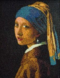 Девушка с жемчужной сережкой 616 х 800