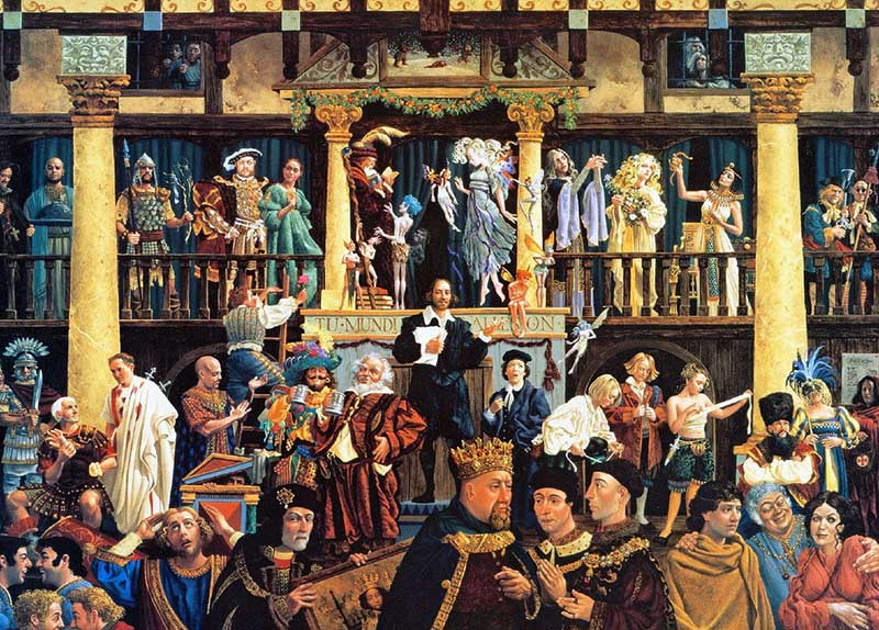 Шекспир и его герои 800 х 574