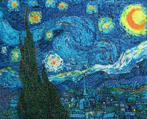Звездная ночь 700 х 569