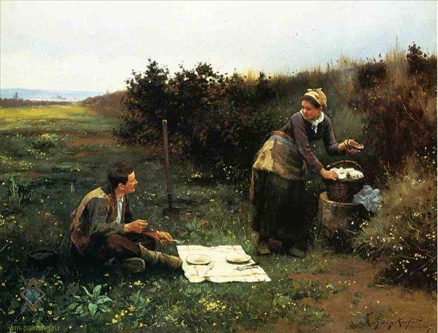Дэниел Риджуэй Найт Завтрак медового месяца 640 х 486