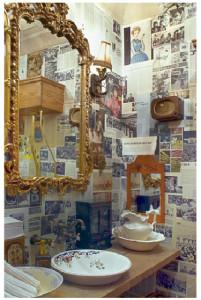 интерьер туалетной комнаты в ресторане Марьиванна_Нью Йоркjpg