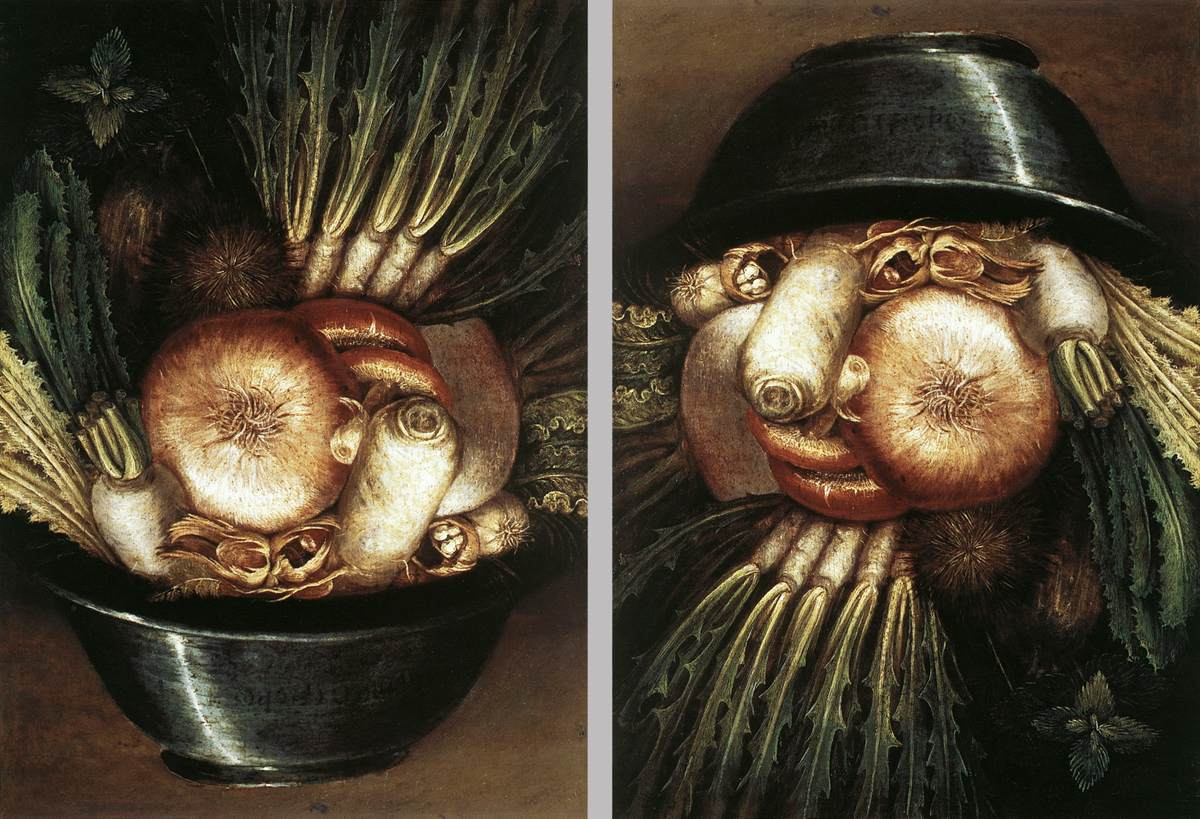 картины Джузе́ппе Арчимбо́льдо-