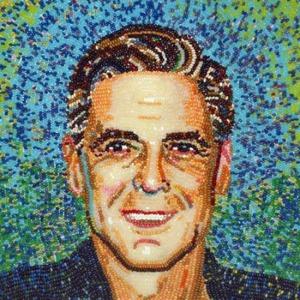 портрет Джорджа Клуни 550 х 550