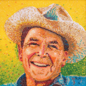 портрет Рональда Рейгана 550 х 550