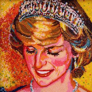 портрет принцессы Дианы 550 х 550