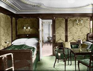 интерьер каюты Титаника 1912-02
