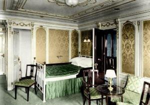 интерьер каюты Титаника 1912