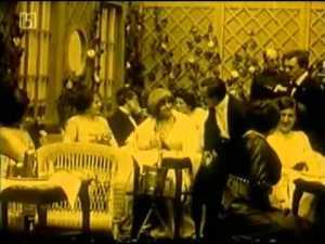 кадр фильма Ночью во льдах-In Nacht und Eis -1912