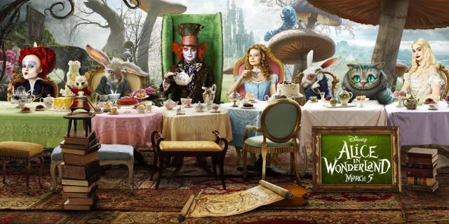 поп-культура -last-supper-алиса в стране чудес-тим бартон