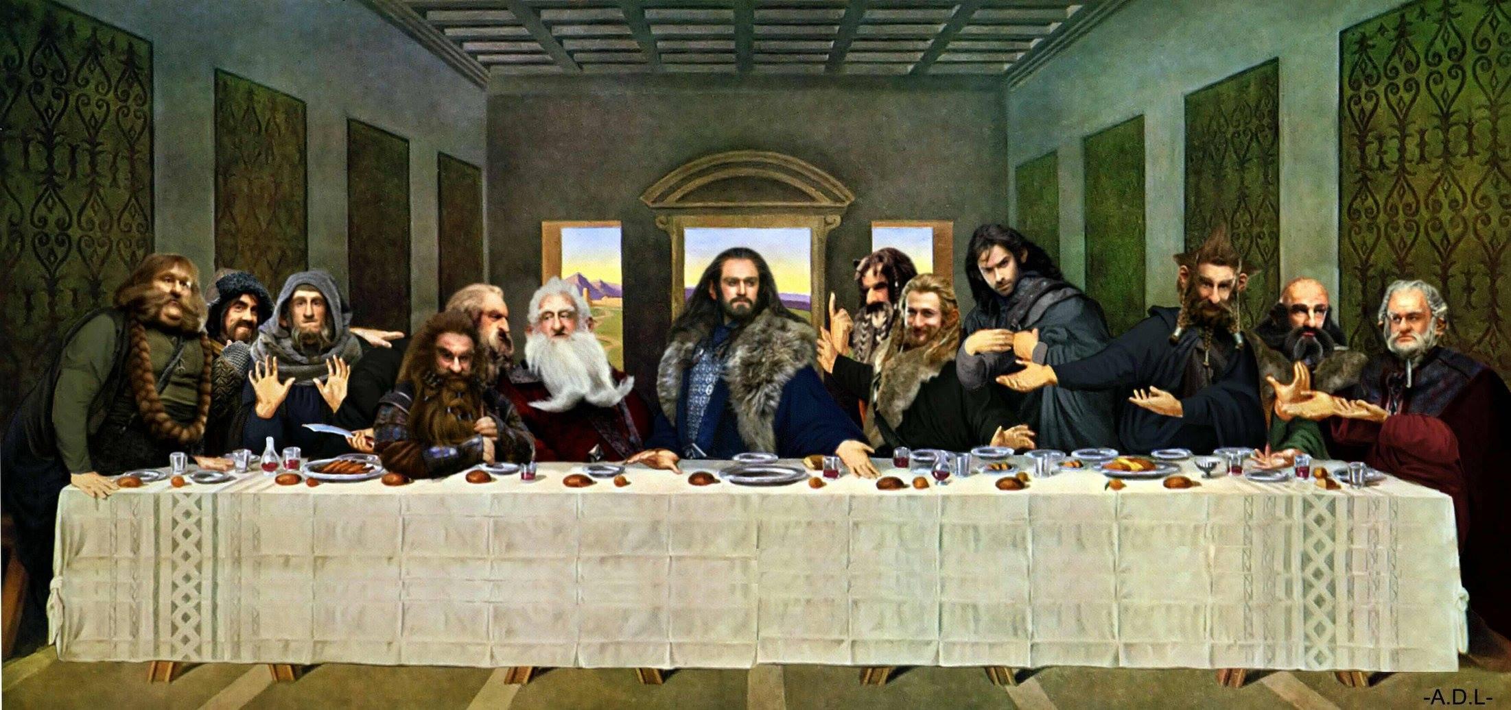 поп-культура -last-supper-игры престолов-2