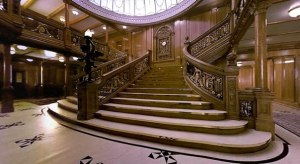 реконструированная главная лестница титаника