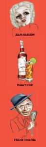 иллюстрации к книге «Of All the Gin Joints: Stumbling through Hollywood History»