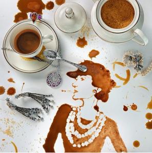 Ксения Березовская портрет Коко Шанель 600 х 605