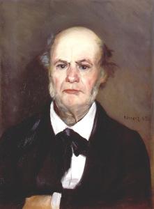 Ренуар. Портрет отца,1869  700 х 949