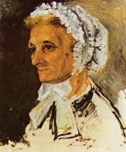 Ренуар.Портрет матери, 1860  700 х 841