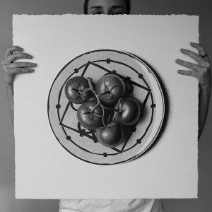 арт-работы-художник CJ Хендри-помидоры