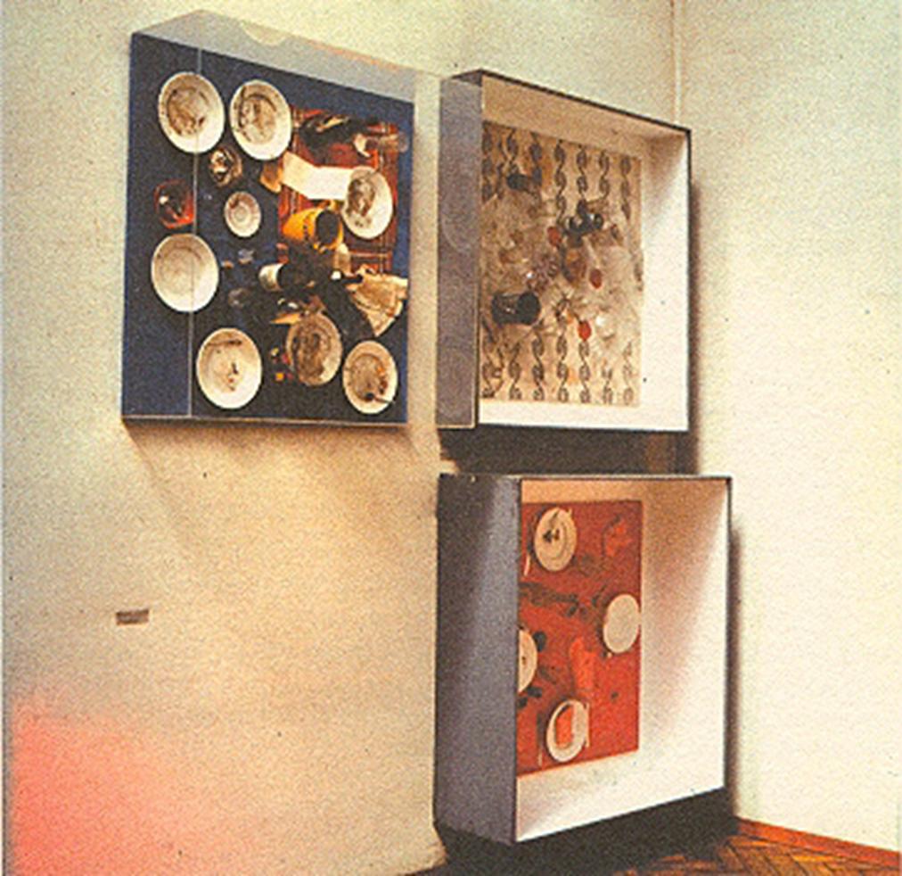 artistes Nouveaux Réalistes_Ресторан-де-ла Galerie J-daniel-spoerri