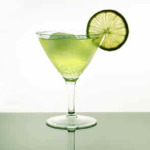 коктейль буравчик-лимонная долька-Gimlet