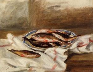 натюрморт с рыбой, 1890 1000 х 778