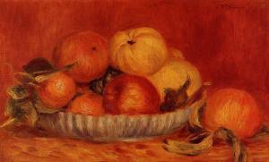 натюрморт с яблоками и апельсинами, 1897 1000 х 606