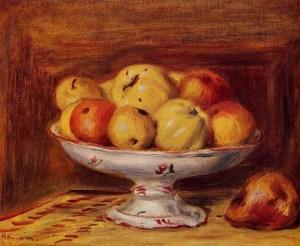 натюрморт с яблоками и грушами, 1903 1000 х 821