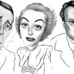 шарж на голливудских звезд- книга Of All the Gin Joints-Stumbling through Hollywood History