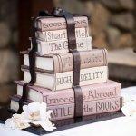 торт-связка книг-Edible Book