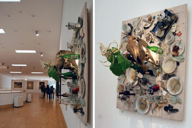 выставка работ spoerrie
